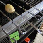 Schaschlikgrill Aufsatz mit 9 Spießen für den Premium Grill