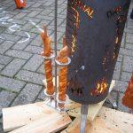 Grillfackelhalter für Rippentonne