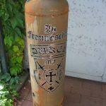 Robuste Outdoor Feuertonne bei Holzöfen Camino