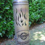 Feuertonnen mit individueller Gravur